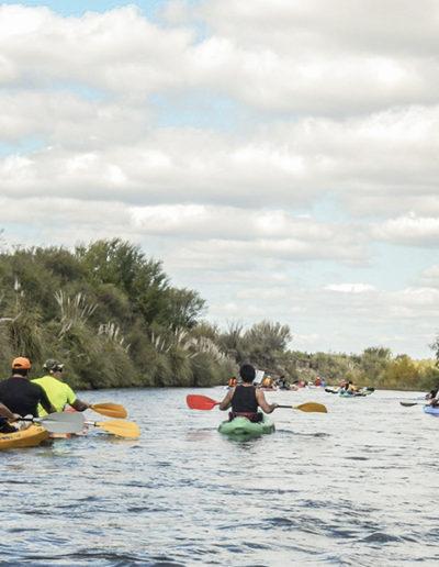 Disfrutando el Río Atuel
