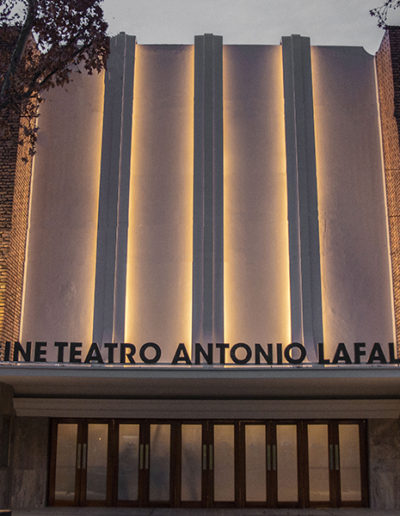 Cine Teatro Antonio Lafalla - Exterior
