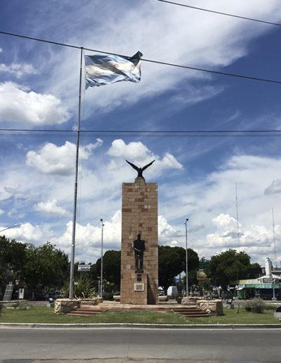 Km 0 de Ciudad - Monumento de San Martin