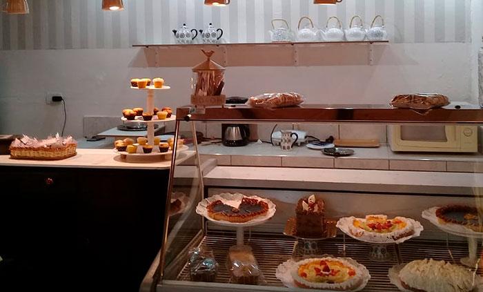 Casa de Té y chocolate Los Parrales